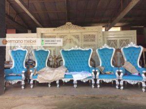 Set Kursi Ratu Pernikahan – Pelaminan