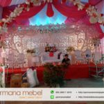 Set Dekorasi Pernikahan Karet Terbaru