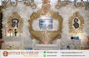 Dekorasi Pernikahan Spon Karet Modern
