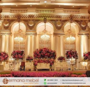 Set Dekorasi Wedding Spon Karet