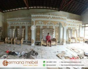 Set Pelaminan Kayu Maroko Terbaru