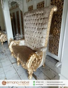 Sofa Pelaminan Ukir Mewah