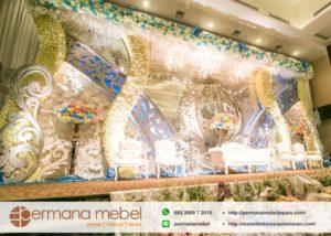 Dekorasi Wedding Modern Karet