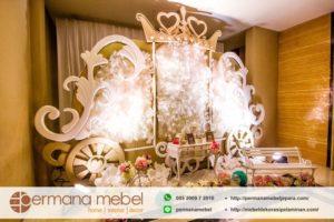 Photo Booth Pelaminan Karet Train Princess