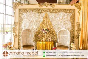Photo Booth Pelaminan Karet Ukir Wayang