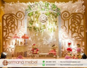 Photo Booth Pernikahan Karet Minimalis