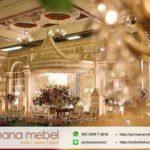 Dekorasi Pernikahan Karet Ukir Modern Minimalis