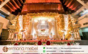 Pelaminan Wedding Ukir Spon Karet