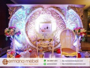 Photo Booth Ukir Karet Spon Circle