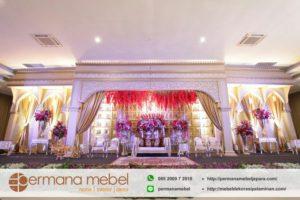 Dekorasi Perkawinan Gedung Bahan Spon Karet