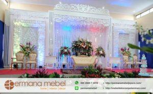 Dekorasi Pernikahan Karet Minimalis Modern
