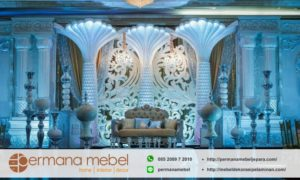 Dekorasi Wedding Karet Internasional Modern