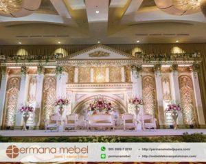 Dekorasi Wedding Karet Spon Eropa Mewah