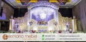 Jual Dekorasi Pelaminan Karet Modern Mewah