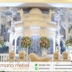 Dekorasi Pelaminan Karet Pergola Terbaru 2018