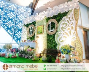 Photo Booth Perkawinan Ukir Spon Karet Terbaru