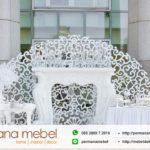 Photo Booth Ukiran Karet Love Putih