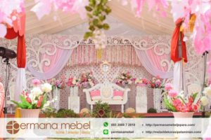 Set Dekorasi Pernikahan Ukir Karet Favorit