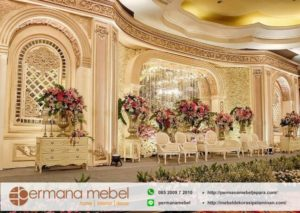 Dekorasi Pernikahan Eropan Spon Karet