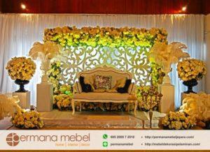 Photo Booth Pernikahan Ukiran Karet