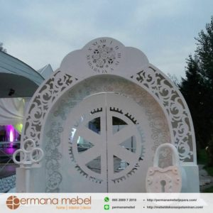 Photo Booth Wedding Karet Kunci Gembok