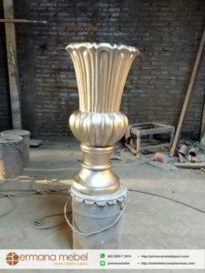 Pot Bunga Property Pelaminan Gold