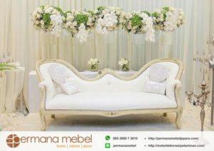 Sofa Pelaminan Model Klasik Terbaru