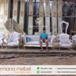 Property Pelaminan Wayang Ukir Karet Spon