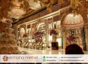 Wedding Decoration Modern Kubah Karet