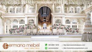 Dekorasi Pelaminan Wedding Internasional Mewah