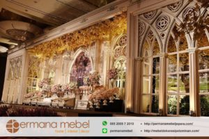 Pelaminan Wedding Modern Karet