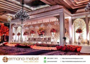 Dekorasi Pelaminan Kubah Maroko Karet