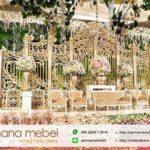Dekorasi Wedding Pelaminan Modern Karet
