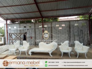 Kursi Sofa Pengantin Pelaminan Terbaru