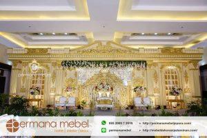 Jual Dekorasi Pernikahan Karet Mewah Gedung