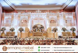 Dekorasi Pernikahan Karet Eropa Mewah