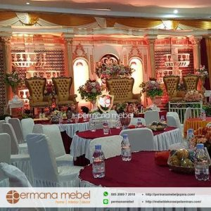 Dekorasi Pernikahan Ukiran Spon Karet Terbaru