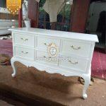 Meja Pot Bunga Kayu Putih Terbaru