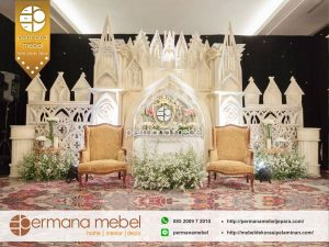 Photo Booth Pelaminan Karet Modern Istana