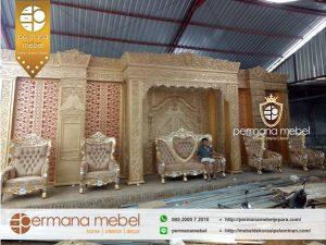 Dekorasi Pernikahan Karet Adat Aceh