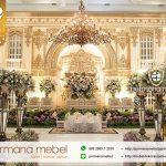 Dekorasi Pernikahan Ukir Karet Klasik Modern