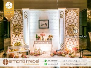 Photo Booth Pernikahan Karet Minimalis Modern