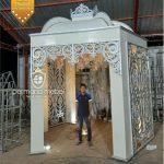 Dekor Pernikahan Istana Modern Ukir Karet