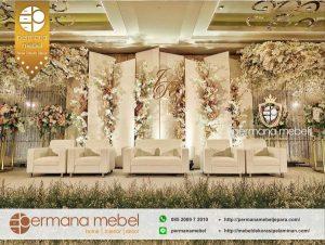 Dekorasi Pernikahan Minimalis Elegan Terbaru