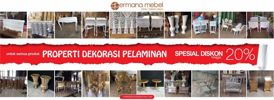 Mebel Dekorasi Pelaminan / Pernikahan Jepara