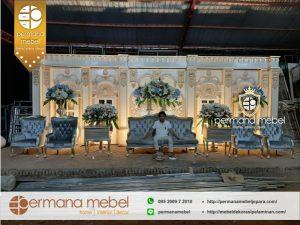 Set Dekorasi Pelaminan Modern Rumahan