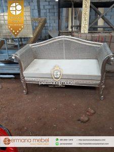 Sofa Pelaminan Rattan Mewah Terbaru