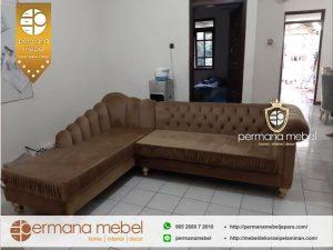 Sofa Tamu Sudut Model Terbaru