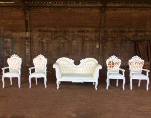 Set Kursi Pelaminan Putih