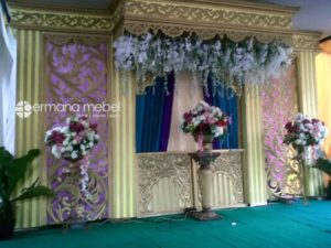 Dekorasi Pernikahan Karet